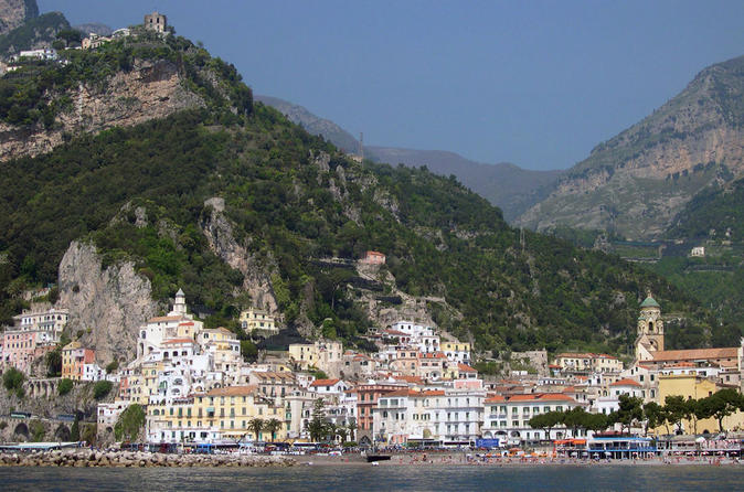 Positano Amalfi and Ravello Full-Day Tour from Sorrento