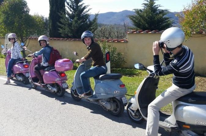 Sorrento Vespa Tour with Farm Visit