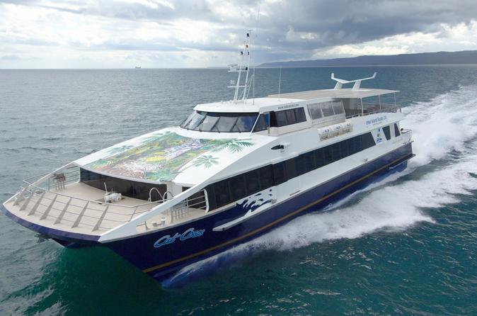 Cat Cocos: Mahe to Praslin Island Fast Ferry