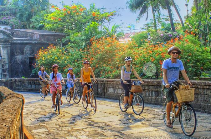 Intramuros Experience with Bamboo bicycle tours