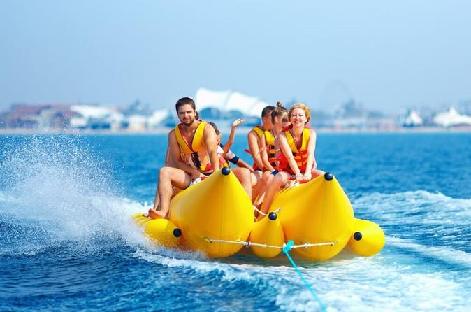 Banana Boat Ride in Biscayne Bay