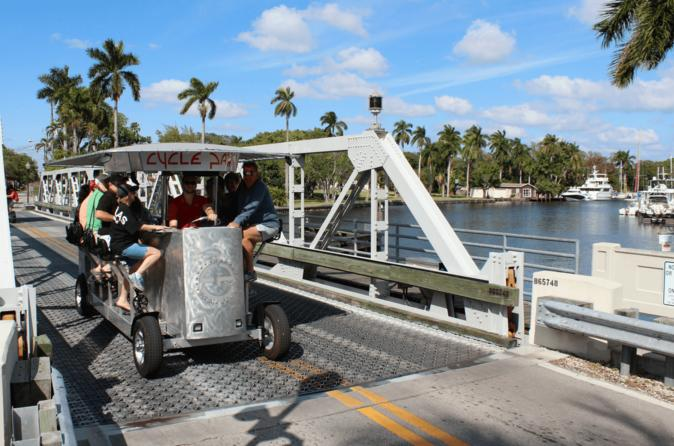 Fort Lauderdale Sightseeing Tour on Party Bike