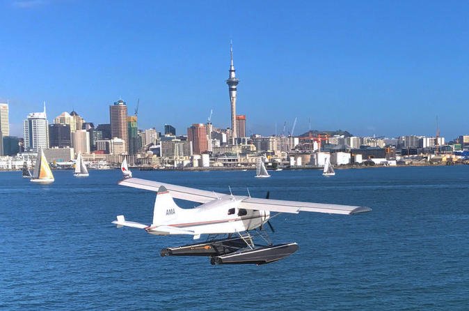 Auckland Harbour and Hauraki Gulf Seaplane Sightseeing Flight