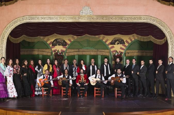 Flamenco Show at El Palacio Andaluz Admission Ticket
