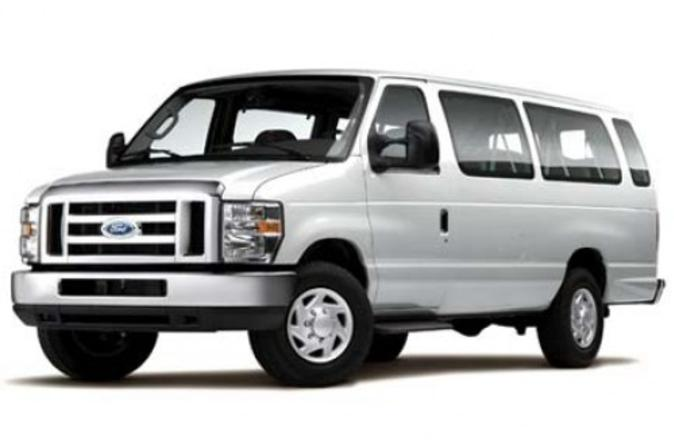 Shared Airport Arrival Transfer: LAX International Airport to Anaheim, Buena Park or Garden Grove