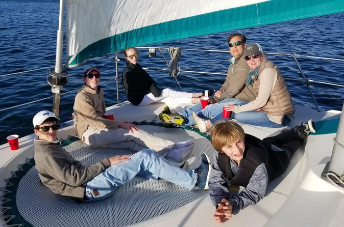 Private Catamaran Party on San Diego Bay