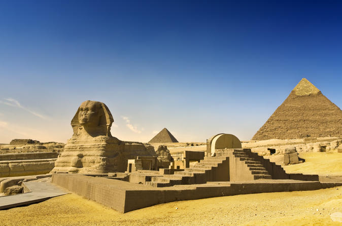 Private Tour: 2-Day Cairo and Luxor Highlights Tour from Hurghada Including Flights, Giza Pyramids, Valley of the Kings and Karnak