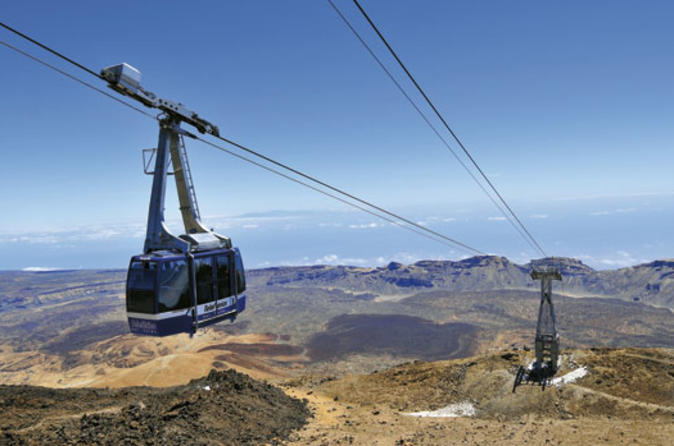 Teide National Park Tour Including Transfers and Cable Car or Observatory Tickets