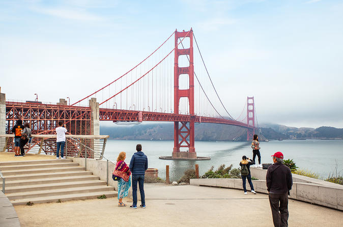 San Francisco Hop-On Hop-Off Bus Tour with Trolley Tour Option