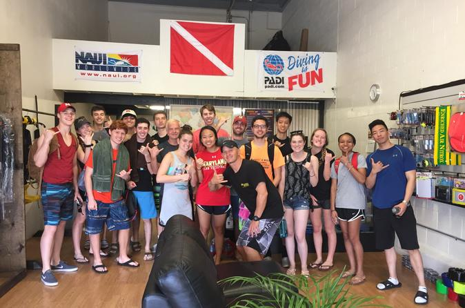 Discover Scuba Diving, scuba diving for beginners, no experience necessary
