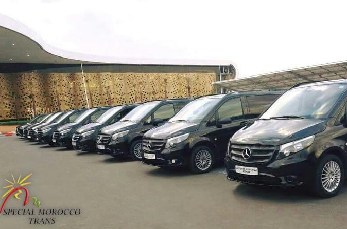 Casablanca Airport PRIVATE Transfer Group