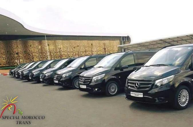 Private VIP transfer Casablanca To Marrakech