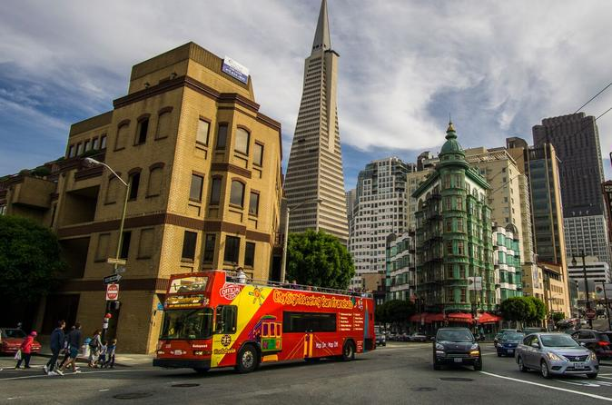 2-Day Narrated Hop-On Hop-Off Tour in San Francisco