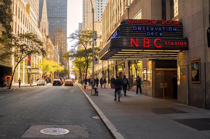 NBC Studio with TV and Movie Locations Tour