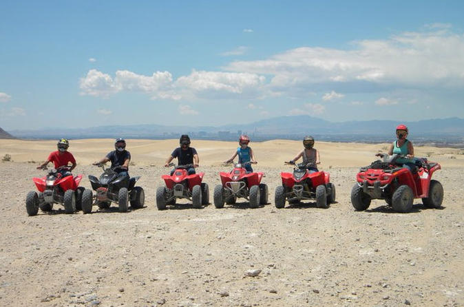 ATV Tours at Nellis Dunes from Las Vegas