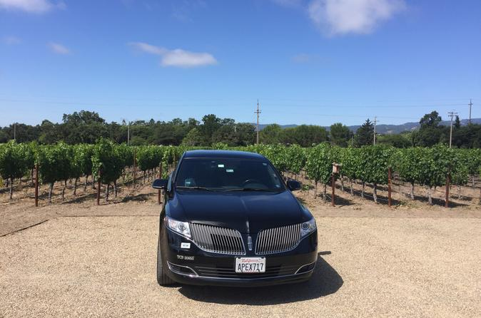 8-hours San Francisco to Napa Valley Day Trip in Private Lincoln MKT Crossover up to 4 People