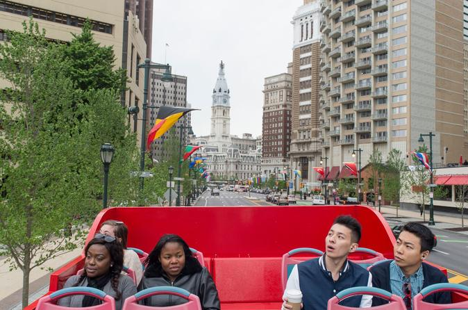 See Philly Combo: Hop-On Hop-Off, One Liberty Observation Deck, and Philly Night Tour