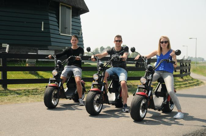 E-tour bike rent Volendam Marken - One-day Bus from Amsterdam incl boat-cruise