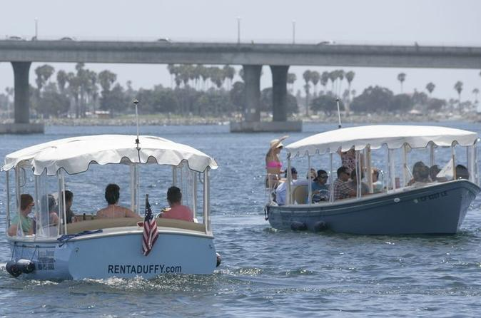San Diego 90-Minute Electric Boat Rental