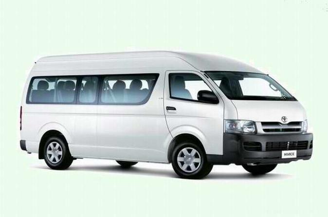 Private Pudong International Airport Transfer Service For Big Group Up To 16 People