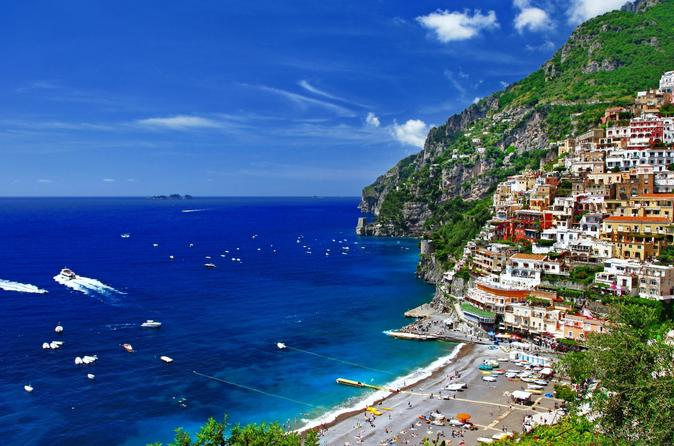 Amalfi Coast e Capri Island Overnight Tour from Naples