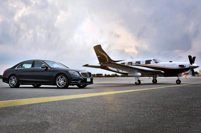 Private Luxury Transfer from Paris to Bourget Airport