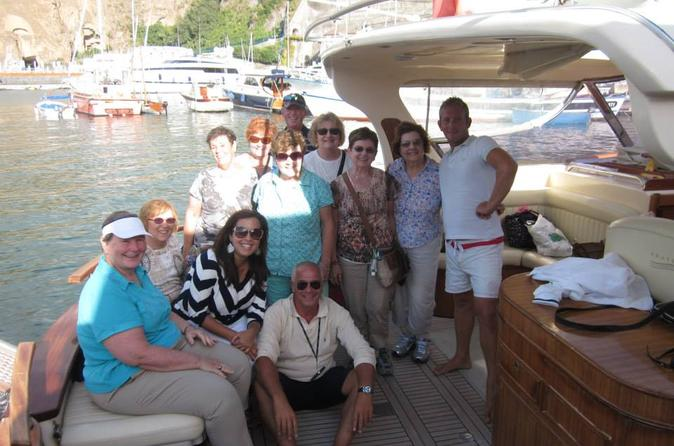 Amalfi Coast Boat Experience: Sorrento to Positano, Li Galli, Rotonda and Castelletto