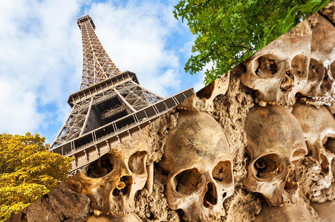 Skip-the-Line Admission Tickets : Eiffel Tower Summit and Catacombs