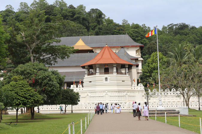 Private All Inclusive Kandy Tour from Bentota and Beruwela