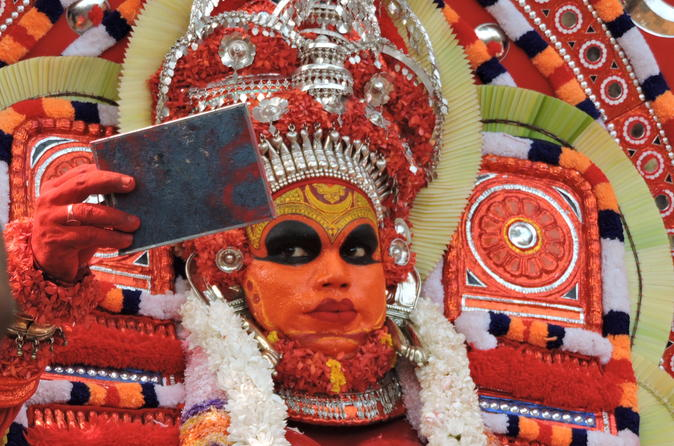 Overnight Private Guided Tour of Theyyam from Kannur