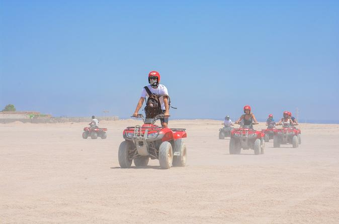 Private Tour: 6-Hour Quad Bike Safari Trip to Sahara with Dinner, Show, and Star-Gazing