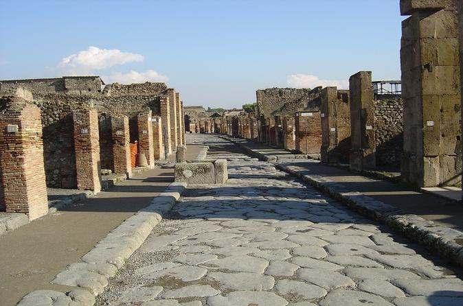 Private Tour: Amalfi Coast and Pompeii - Full Day from Rome