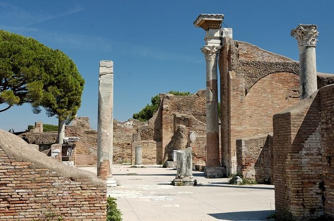 Relive the Ancient Ostia: Private Half-Day Tour from Rome