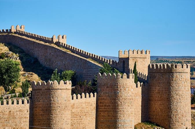 Private tour of Avila from Madrid with hotel pick up and official guide in Avila