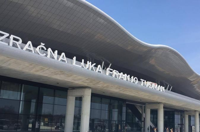 PRIVATE ARRIVAL TRANSFER: Zagreb airport to Zagreb city