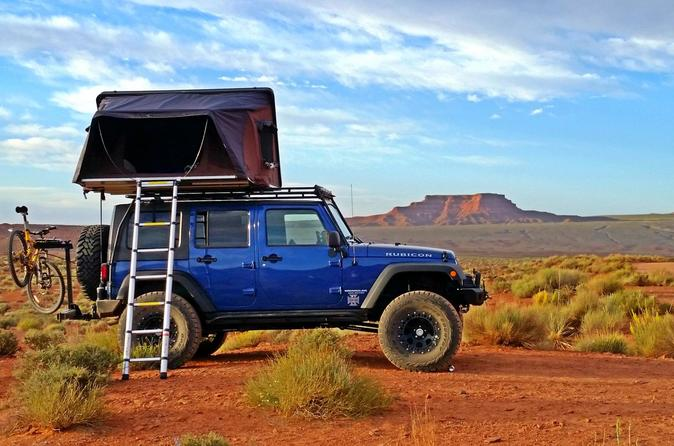 Arches & Moab Tour - Jeep Car Camping