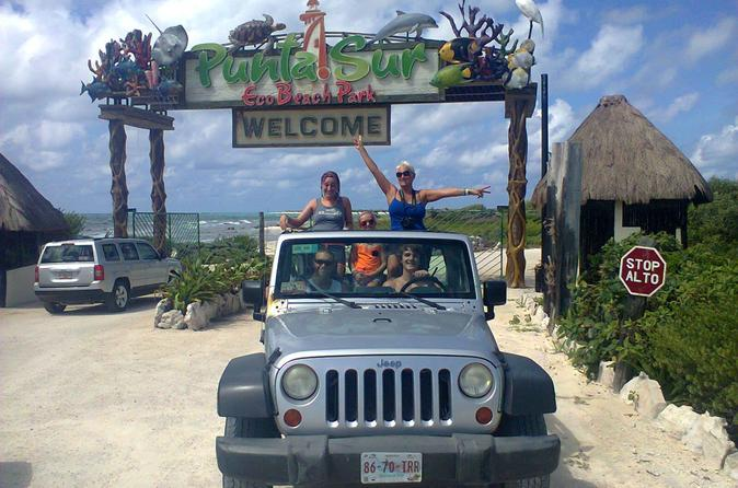 Private and Customizable Jeep Excursion in Cozumel with Lunch and Snorkeling