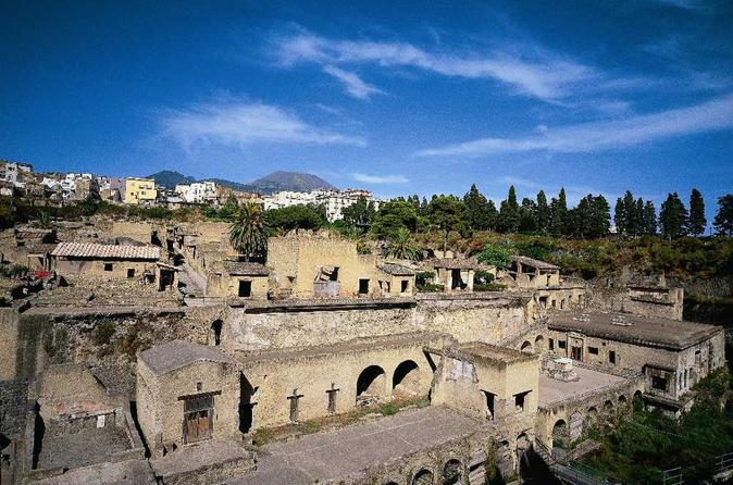 Herculaneum and Pompeii Tour from Sorrento