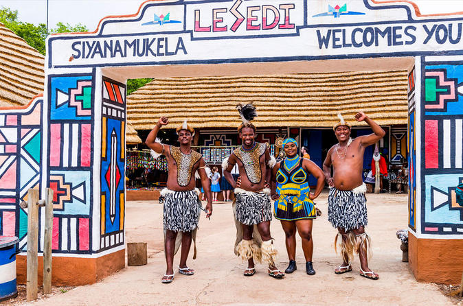 Lesedi Cultural Village - From Johannesburg or Pretoria
