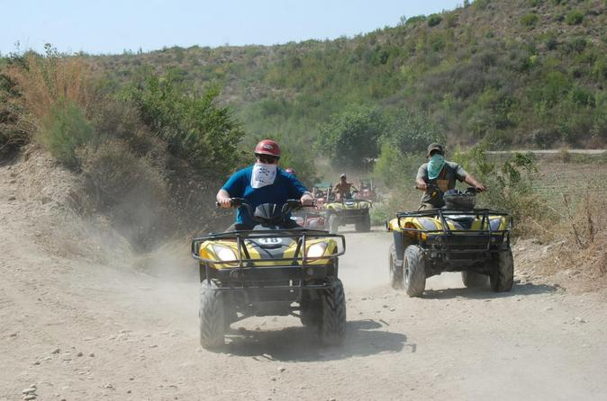 Off-Road Quad Biking Tour in Antalya