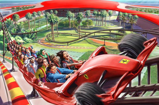 Ferrari World Entry with Transfers from Dubai
