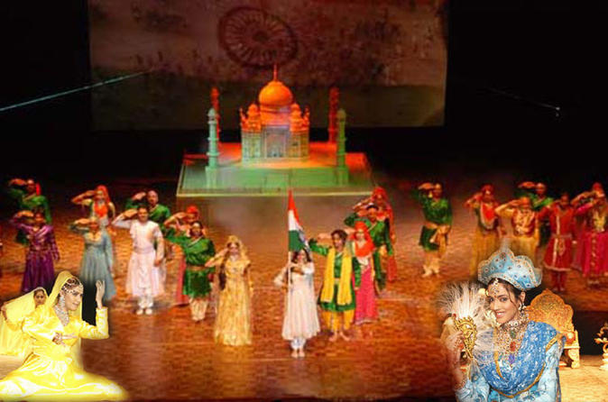Evening Tour of Mohabbat The Taj Show in Kalakriti Cultural and Convention Center