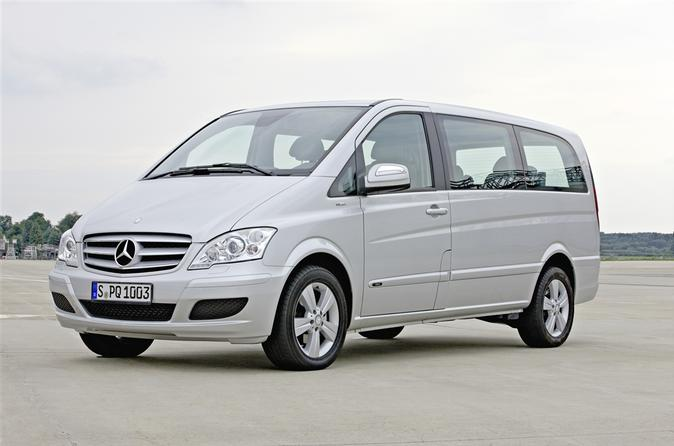 Private Arrival Transfer: London City Airport to Central London in a Luxury Van