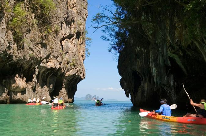 Hong Island Tour by Longtail Boat with Snorkeling and Optional Kayaking