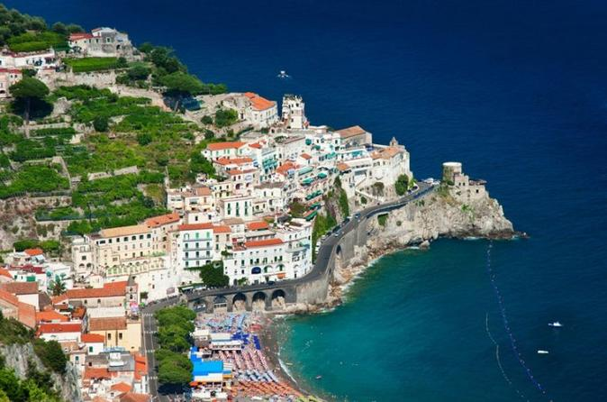 Amalfi Coast Small Group Tour with Lunch
