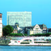 Düsseldorf Hop-On Hop-Off Bus Tour and Rhine River Sightseeing Cruise
