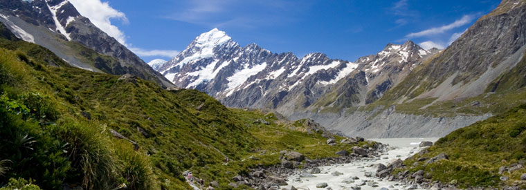 Destination Mount Cook, South Island, New Zealand