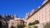 Barcelona Highlights and Montserrat with Cog Wheel Train Guided Day Tour