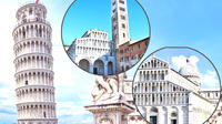 Pisa & Lucca Guided Day Tour from Florence w Leaning Tower Skip-the-Lin