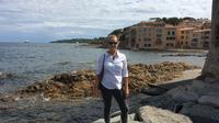 Private full day trip to St Maxime and St Tropez green boat from Cannes
